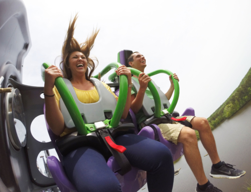 Top 4 Roller Coasters at New Jersey Six Flags Park